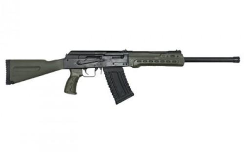 "Kalashnikov USA KS-12 Semi Auto Shotgun 12 Gauge 18.25"" Barrel 3"" Chamber 5 Rounds Fixed Sights OD Green Polymer Furniture Matte Black"