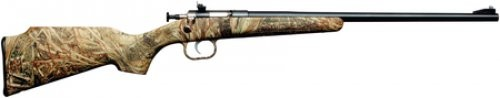 Crickett Bolt-Action Rifle Mossy Oak Duck Blind Camo .22LR 16in Barrel Single Shot