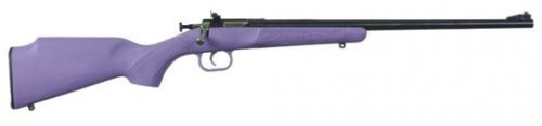 Crickett KSA Model 306 Youth Purple Synthetic .22 LR 16.125-Inch Blued