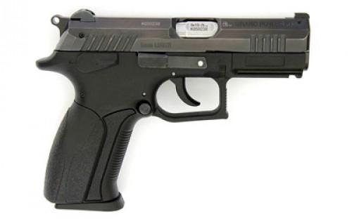 Grand Power P1 Black 9mm 3.66-inch 15rd decocker