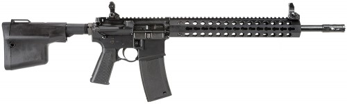 "Troy Industries Special Purpose Carbine AR-15 5.56 NATO Semi Auto Rifle, 16"" Barrel 30 Rounds"