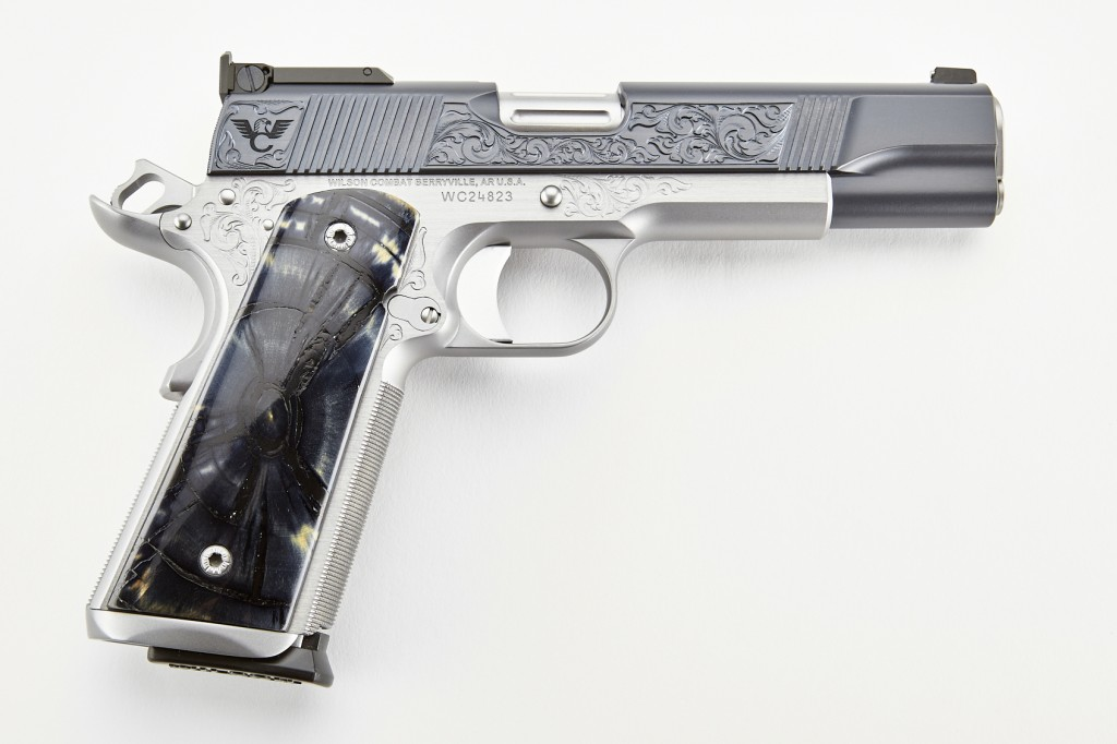 Wilson Combat CQB Elite, Full-Size, .45 ACP, Two-Tone, Blue/Stainless