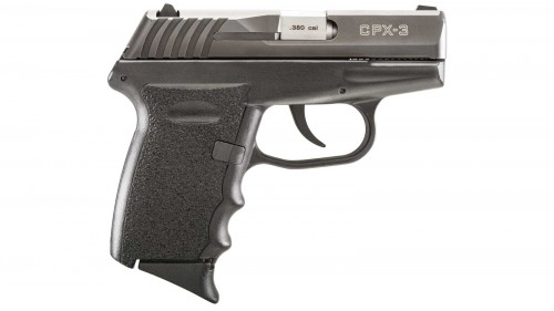 """SCCY CPX-3 380ACP 10RD 3.1"""" BLK"""