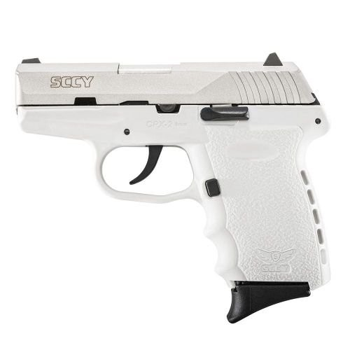 SCCY CPX2 White 9MM 3.1-Inch 10RD