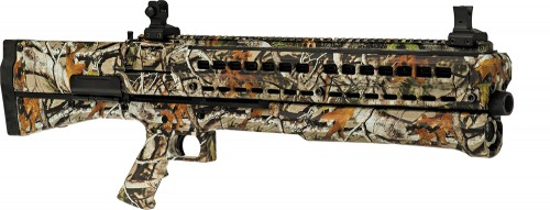 UTAS UTS-15 Pump Action Shotgun Camo 12ga 18.5in Barrel with 2 7rd tubes