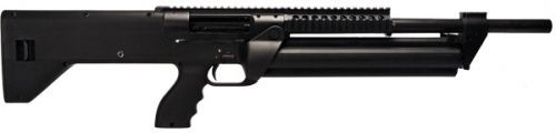 "SRM Arms SRM-1228 Semi Auto Shotgun 18.5"" Barrel 28 Rounds Detachable Manually Indexing Magazine Aguila Minishells Only Polymer Stock Matte Black Finish"