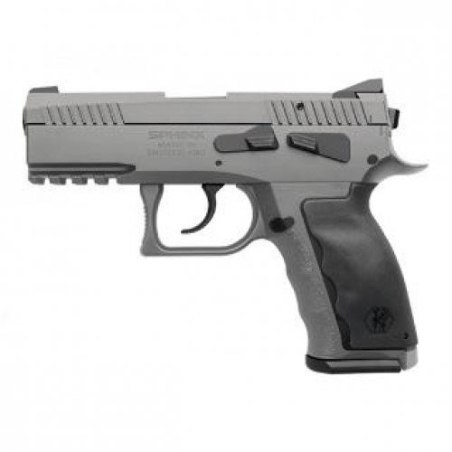 Sphinx SDP Alpha Wolf 9mm 3.7 Inch 15 Rd Grey Cerakote