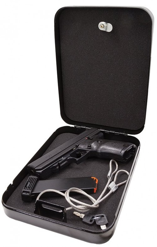 Hi-Point Semi Auto Handgun 45ACP 9RD POLY with Lockbox