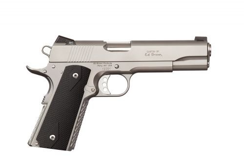 Ed Brown Alpha Elite Single Action Only 45 ACP 5-inch 7rd Stainless