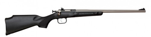Keystone Crickett Black/Stainless .22LR 16.1-inch 1rd Youth
