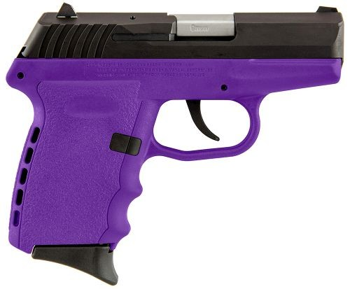 SCCY CPX-2 Black / Purple 9mm 3.1-inch 10Rd