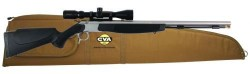 CVA Optima V2 Muzzleloader Stainless Steel/Black with 3-9x40 Konus Scope and Gun Case Combo