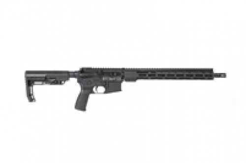 "RADICAL FIREARMS RF16 300 BLK 16"" HBAR  BLACK 6POS STOCK 15"" FCR FREE FLOAT RAIL SYSTEM, M-LOK RAIL, FORGED LOWER, 30RD MAG"