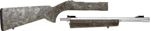 Tactical Solutions TACSOL 10/22 TAKEDOWN COMBO HOGUE SILVER BBL/GREEN STOCK