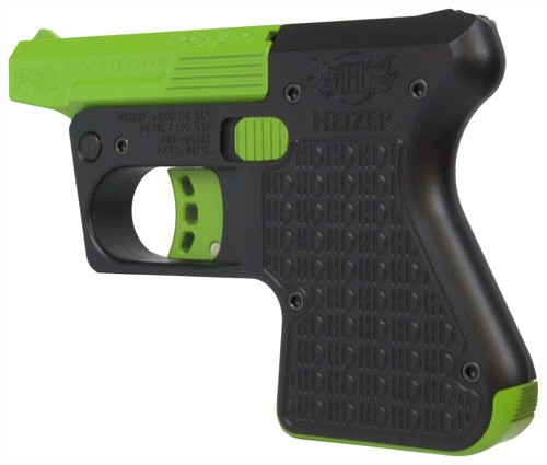 Heizer Defense PS1-BLK-GN PS1 Pocket, 45 Colt/.410 Gauge, Black and Green