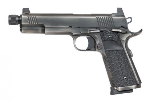 Dan Wesson Wraith Distressed Stainless 10mm 5.75-inch 8Rds