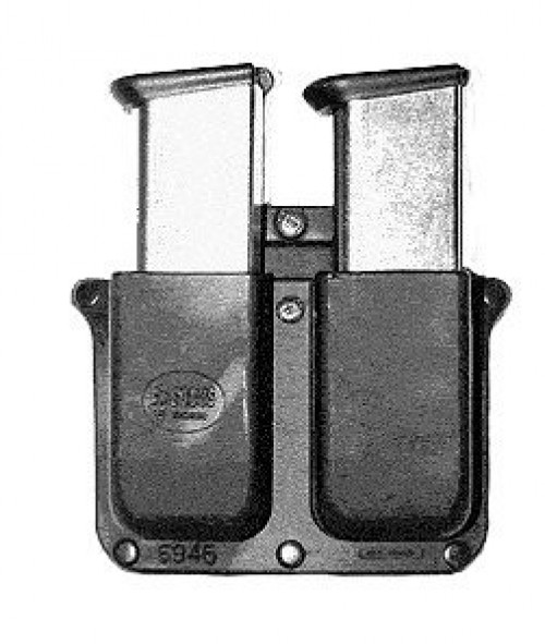 Fobus Belt Double Magazine Pouch for Glock 10/45