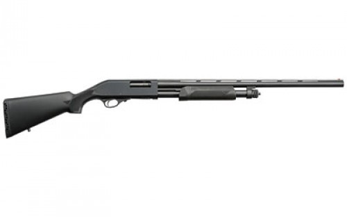 Charles Daly 300 Pump Field 12 Gauge Pump Action Shotgun 26-Inch Barrel 3-Inch Chamber 5 Rounds Black