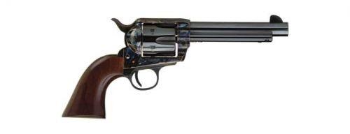 "Cimarron Firearms Frontier Single Action Revolver .38 Special/.357 Magnum 5.5"" Barrel 6 Rounds Walnut Grips Steel Frame Color Case Hardened/Blued Barrel Finish"