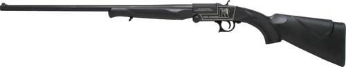 "Iver Johnson IJ700 Youth Single Shot Break Action Shotgun 20 Gauge 24"" Barrel 1 Round 3"" Chambers Synthetic Stock Black Finish"