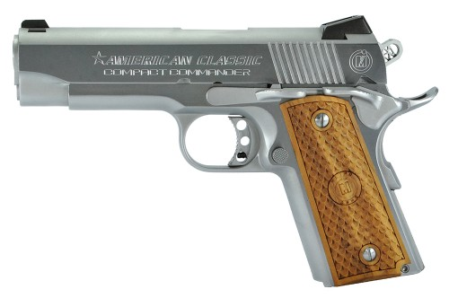 Metro Arms Co Compact Commander Stainless / Black .45 ACP 7Rds