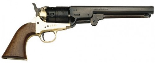 Traditions 1851 NAVY Black Powder Revolver Blued .44 Caliber 7.375-inch 6Rds