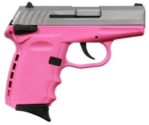 SCCY CPX-2-TTPK TT Pistol DAO Pink