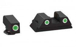 Ameriglo Spartan Tactical Tritium Night Sight Set For Glock 43 Orange/Green