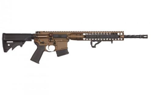 LWRC DI Rifle 556NATO 16.1-inch 10rd Bronze MD compliant