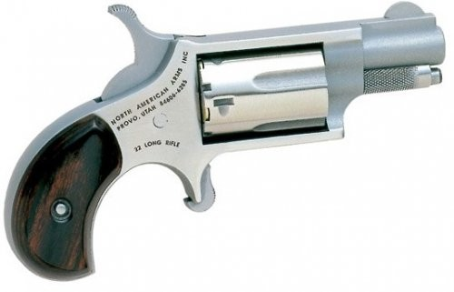 North American Arms Mini Revolver .22LR 1.125-inch Fixed Sights 5rd
