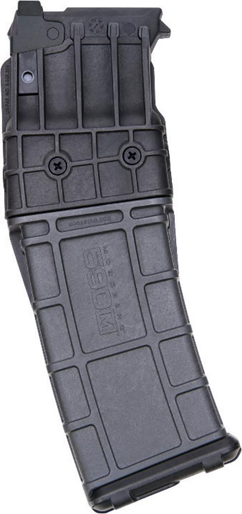 "Mossberg 590M Mag-Fed Shotgun 15 Round Box Magazine 12 Gauge 2-3/4"" Shells Only Polymer Construction Matte Black Finish"