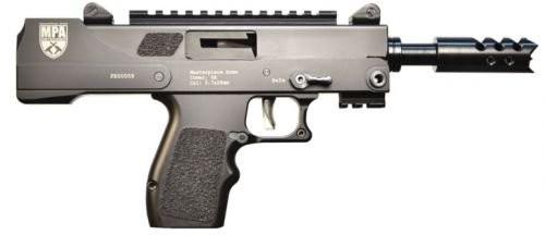 "Masterpiece Arms Defender 5.7x28 5"" Barrel 17 Rounds Black"