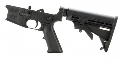 DPMS Lower Assembly with AP4 Stock
