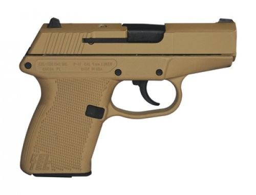 Kel-Tec P-11 Tan Cerakote 9mm 3.1-inch 10Rd