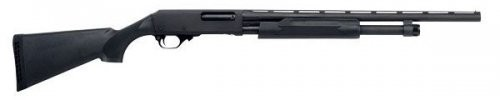 HPardner Pump Synthetic Compact Pump-Action Shotgun - Black
