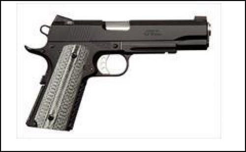 Ed Brown Custom 1911 Alpha  Elite Gen 4  Black Stainless Steel 45 ACP 5-inch 7rd
