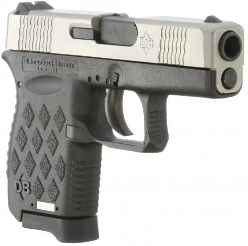 Diamondback DB9 EXO 9mm Semi-auto Pistol 3-Inch 6 Rd Black Polymer