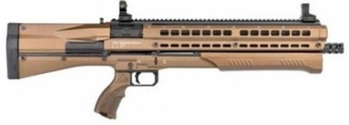 "UTAS UTS-15 Pump Action Shotgun 12 Gauge 18.5"" Barrel 3"" Chamber 14 Rounds Polymer Body Burnt Bronze PS1BB1"