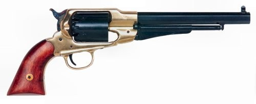 Traditions 1858 Army Revolver Brass / Blued .44 Caliber 8-inch 6Rds