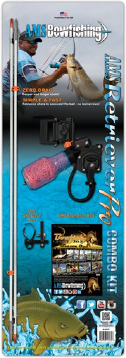 AMS Bowfishing Retriever Pro Combo Kit (RIGHT HAND)