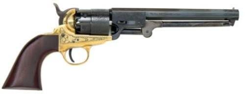 Traditions FR185118 1851 Navy Black Powder Revolver .44