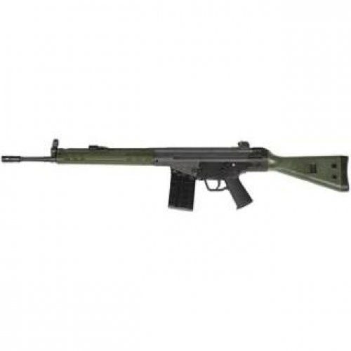 PTR Industries  PTR 91 G.I.R. Semi Auto Rifle  Green  .308 Win / 7.62 Nato  18 inch  10 rd
