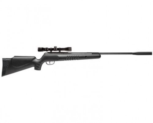 Crosman Nitro Venom .22 Air Gun Rifle with Scope Black