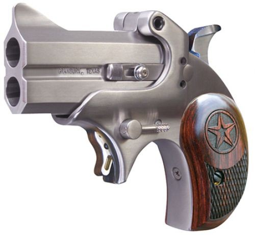 Bond Arms Mini .45LC 2.5-inch Rosewood Grips