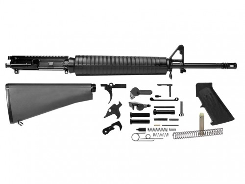 DEL-TON RIFLE KIT 223REM 20 GOVT PROFILE BLK