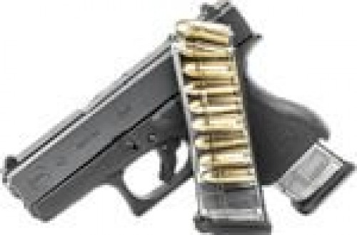 Elite Tactical Systems ETS Glock 43 Magazine 9rd Smoke FOR GLK-43-9