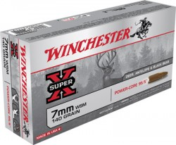 Winchester Super-X Power Core 7mm WSM 140GR BTHP 20Rds