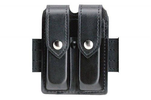SAFARILAND 77 BLACK FINETAC MAGAZINE POUCH DOUBLE FOR GLOCK 20/21 (77-383-13PBL)
