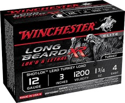 Winchester Long Beard XR Turkey Shotshells Per 10 Rounds