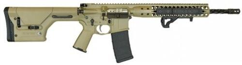 LWRC International IC DI Rifle 5.56mm 16in 30rd FDE PRS Stock ICDIR5CK16PRS